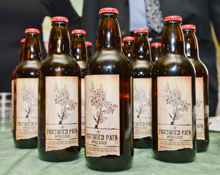 A Tortured Path apple cider. iPolitics/Cynthia Münster