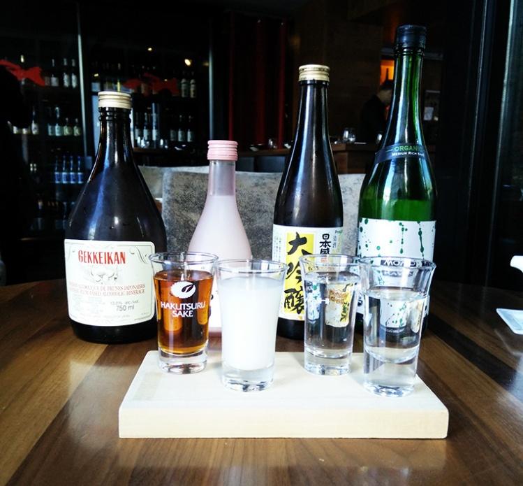 Kyo - Sake Tasting
