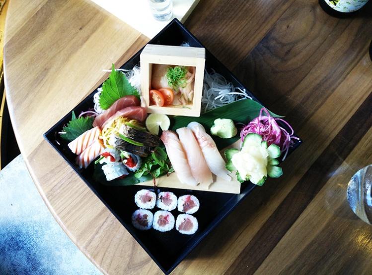 Kyo - Sushi platter