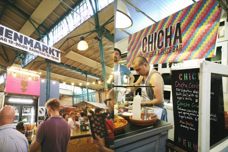 Berlin - Try all the food markets