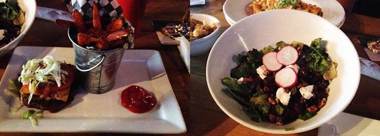 Entrepôt - Burger and salad