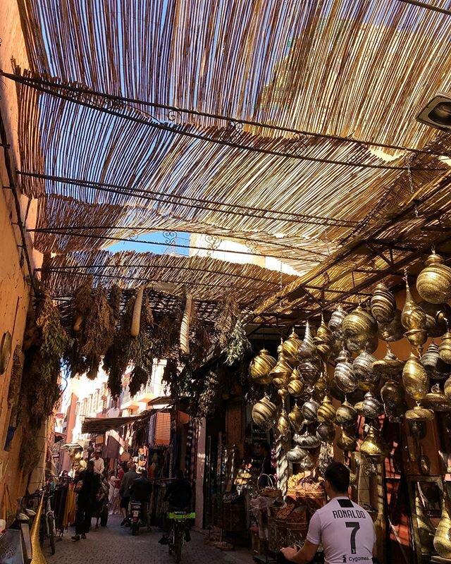 From my last walk through the Medina ✨