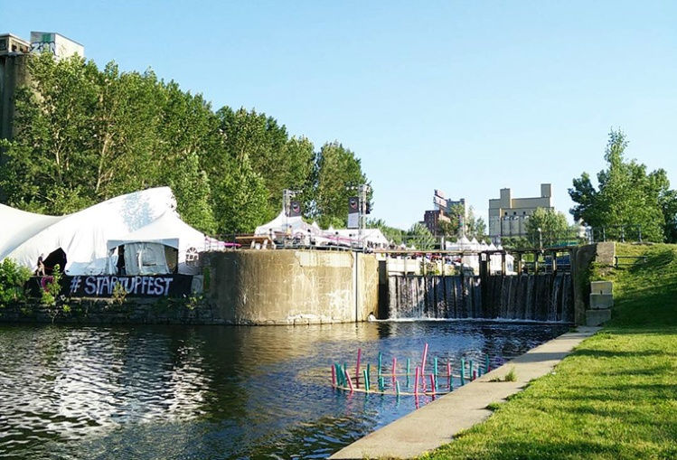 StartupFest 2015 in Old Port Montreal